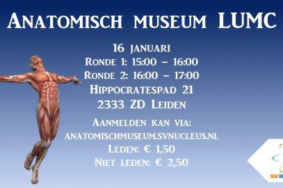 Excursie: Anatomisch Museum LUMC